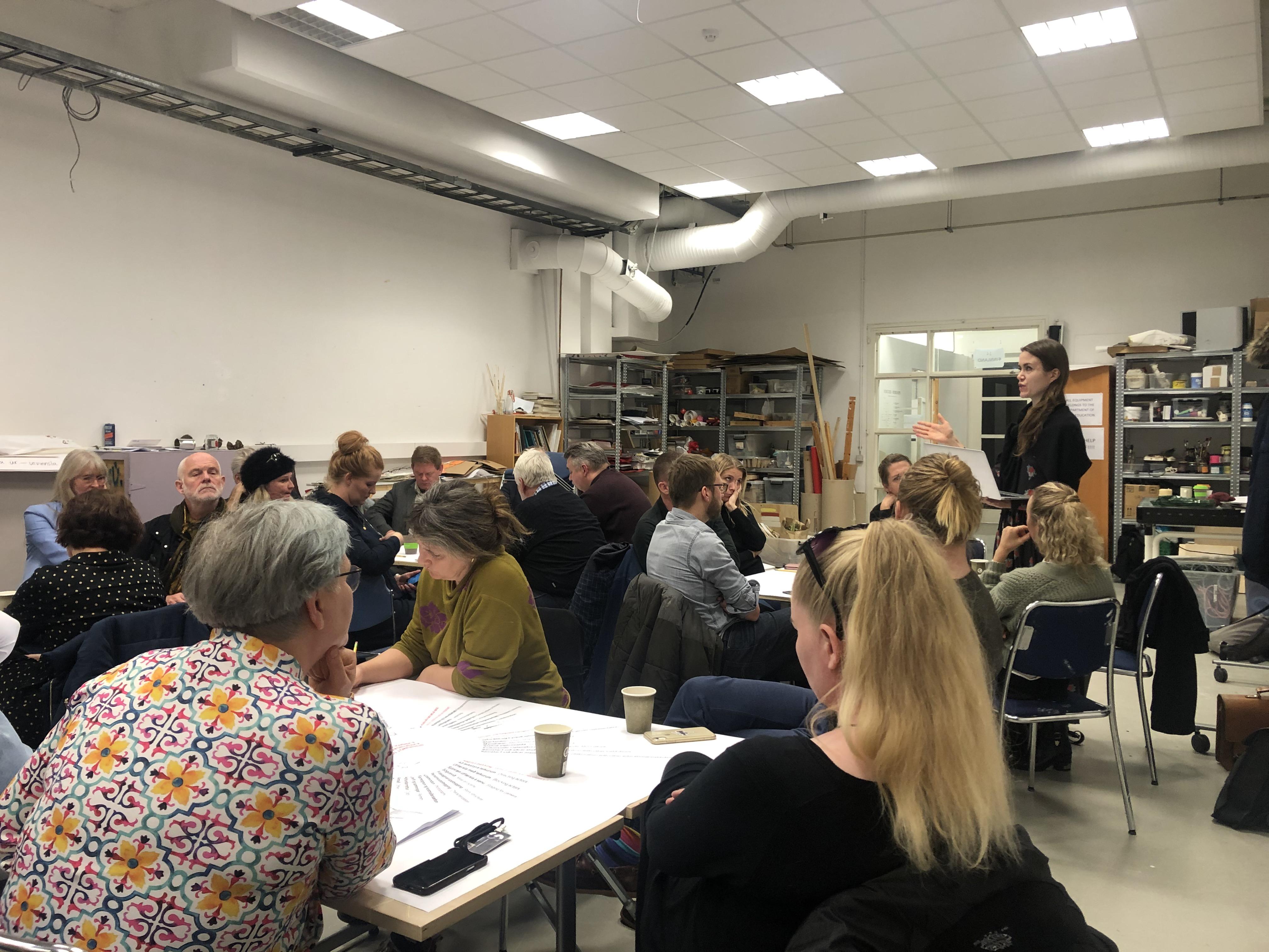 umræður á fagfundi 5.nóv. 2019